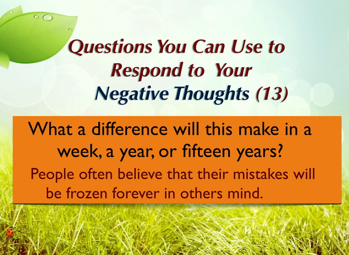 Question you can ask yourself (13)