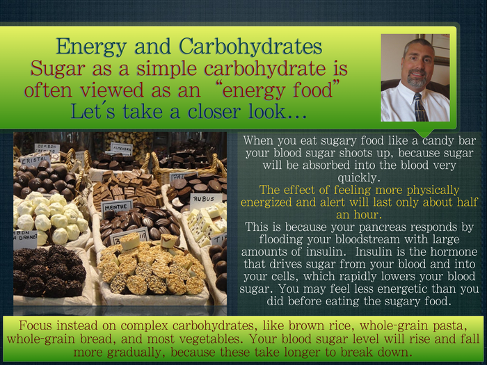 Energy and Carbohydrates