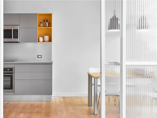 Scavolini Toronto Designs Kitchen for Azure Magazine's New Office