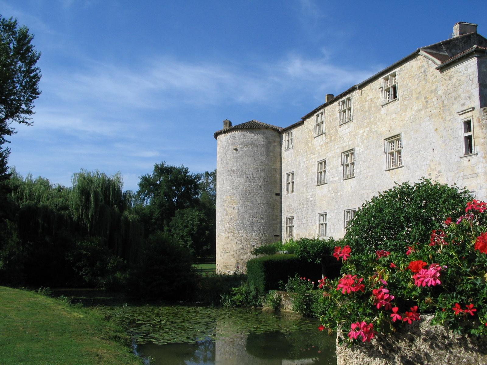Château depuis le pont