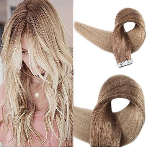 "Balayage Tape-in Hair Extension 18-24"" #12#24"