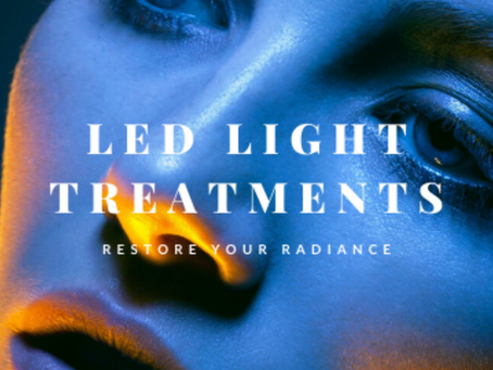 HandzUp Beauty now offers LED Light Therapy