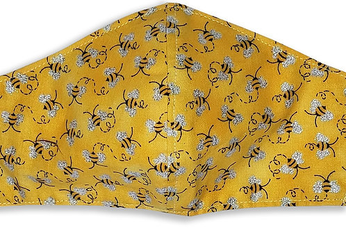 Bumble Bee Children's Face Mask