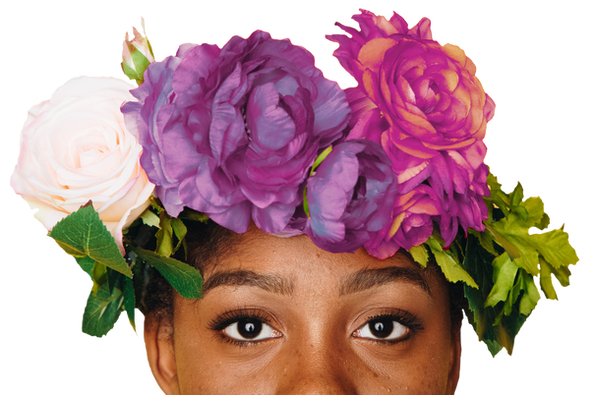 Female With Flower Crown