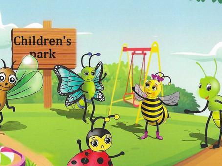 Bonita the Bumble Bee y la cuarentena - Muestras de páginas del libro (Descargar)