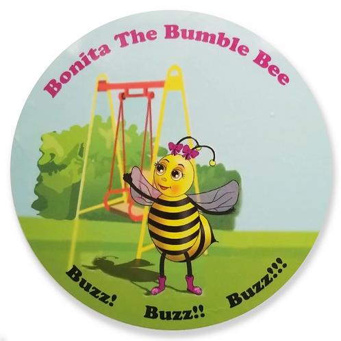 Bonita The Bumble Bee Stickers
