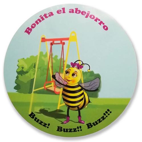 Bonita The Bumble Bee Pegatinas