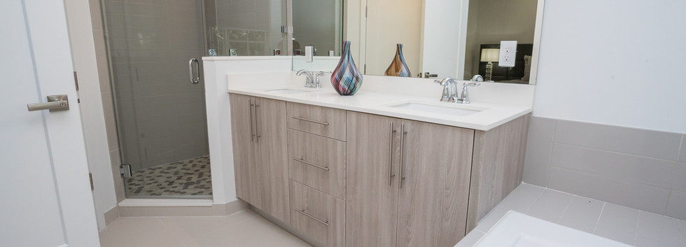 Double Vanity in the Master Bath