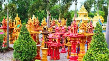 Bangkok Spirit Houses