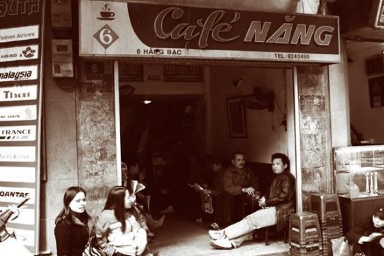 cafe nang coffee hanoi