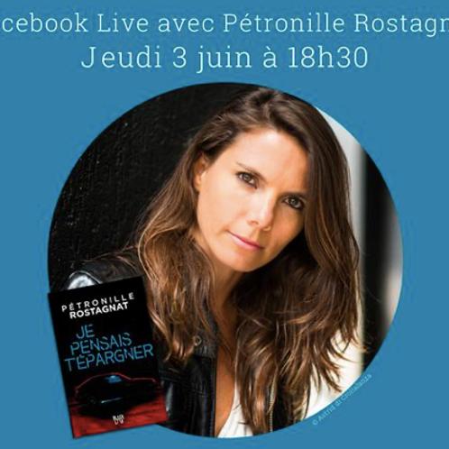 Facebook LIVE avec Hachette