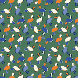 175 - Birds - green