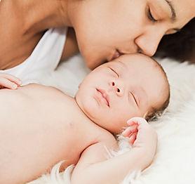 Beso de la madre