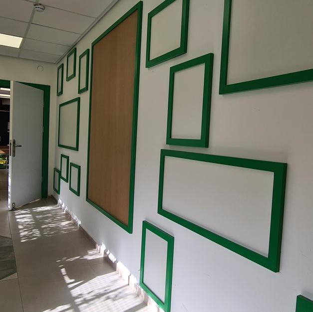 """מסדרון ירוק בביה""""ס"""