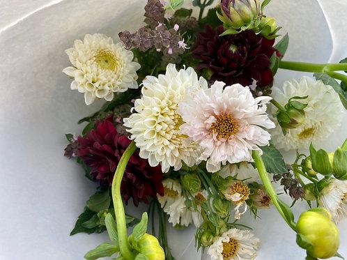4 Week Dahlia Bouquet Subscription (August)