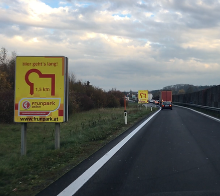 Autobahnwerbung AWP
