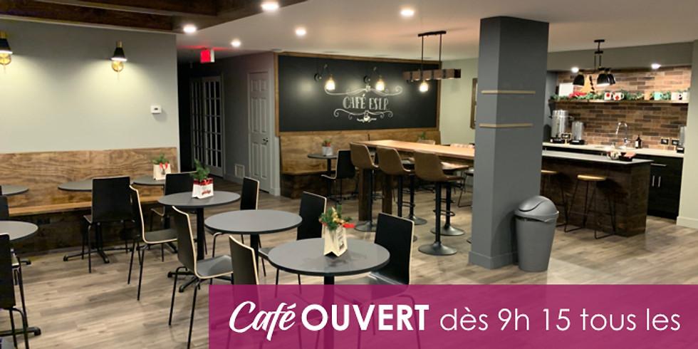 Café OUVERT tous les dimanches !