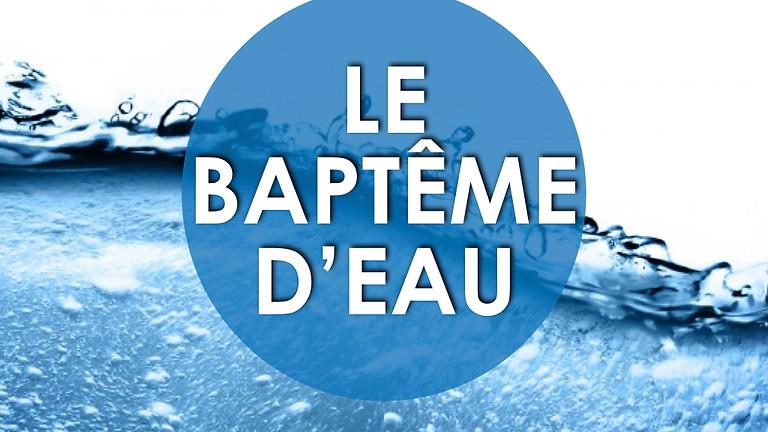 Baptême d'eau