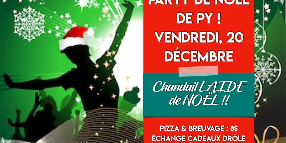 Party de Noël de PY !