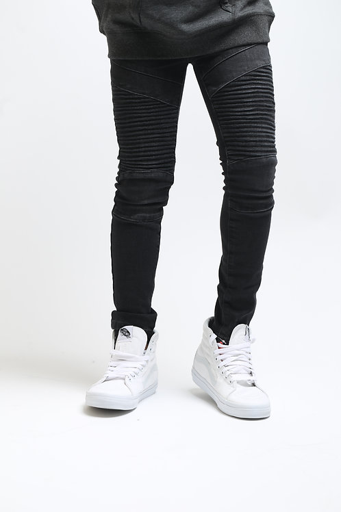 Grey Moto Jeans