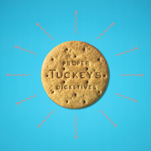 Tuckey's Proper Digestives - Commercial