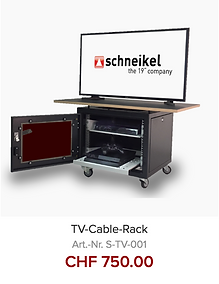 TV Cable Rack Organizer