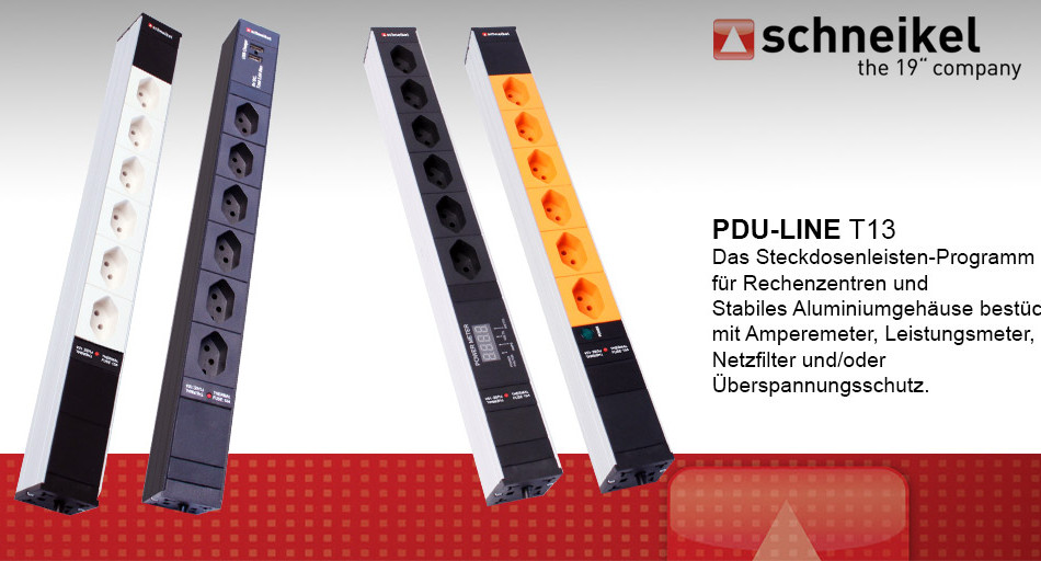 PDU-LINE T13 - Das Steckdosenleisten-Programm