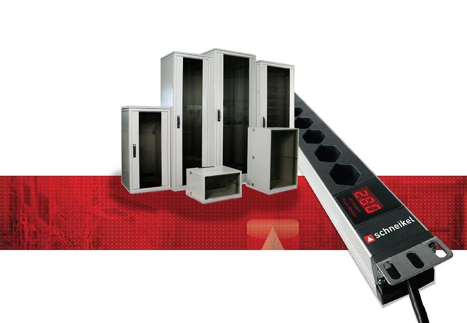 19-ZollServer- und Netzwerkschrank und PDU Steckdosenleisten