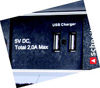 PDU mit USB charger Desk-Line Lift Schneikel