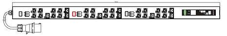 """POM PDU 19"""" RACK POWER DISTRIBUTION"""
