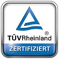 PDUs TÜV Rheinland zertifitiert