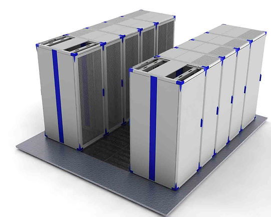Data Centers Cabinets Hot andCold Aisle Containment