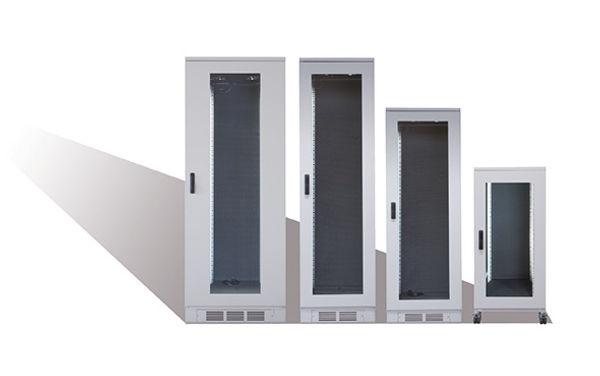 Schranksystem mit Schallschutz Büro und Studio Rack