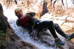 Adrenaline en canyon