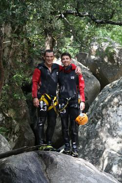 Patrick GRAZIANI par Natura Canyon spécialiste canyoning à Bavella en Corse