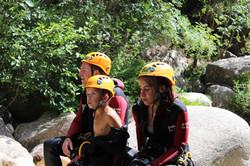 Le canyon est accessible aux jeunes