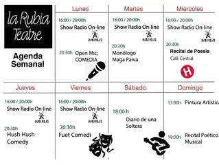 Programa Semanal ( lunes 20 Enero / Domingo 26 Enero 2020)