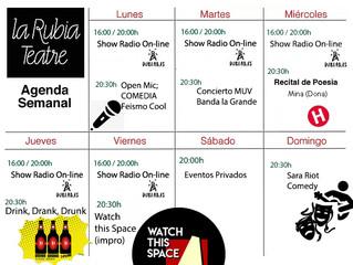 Programa Semanal (Lunes 9 a Domingo 15 de Marzo 2020)
