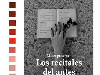 Recital Poético Medea Art (Domingo 19 de Enero)