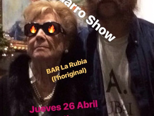 Enrique Barro Show, jueves 26 Abril