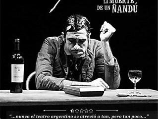 """Teatro; """"Soy Solo; La muerte de un Ñadú"""" (30 Diciembre 2019)"""