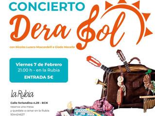 Concierto Dera Sol (Viernes 7 de Febrero)