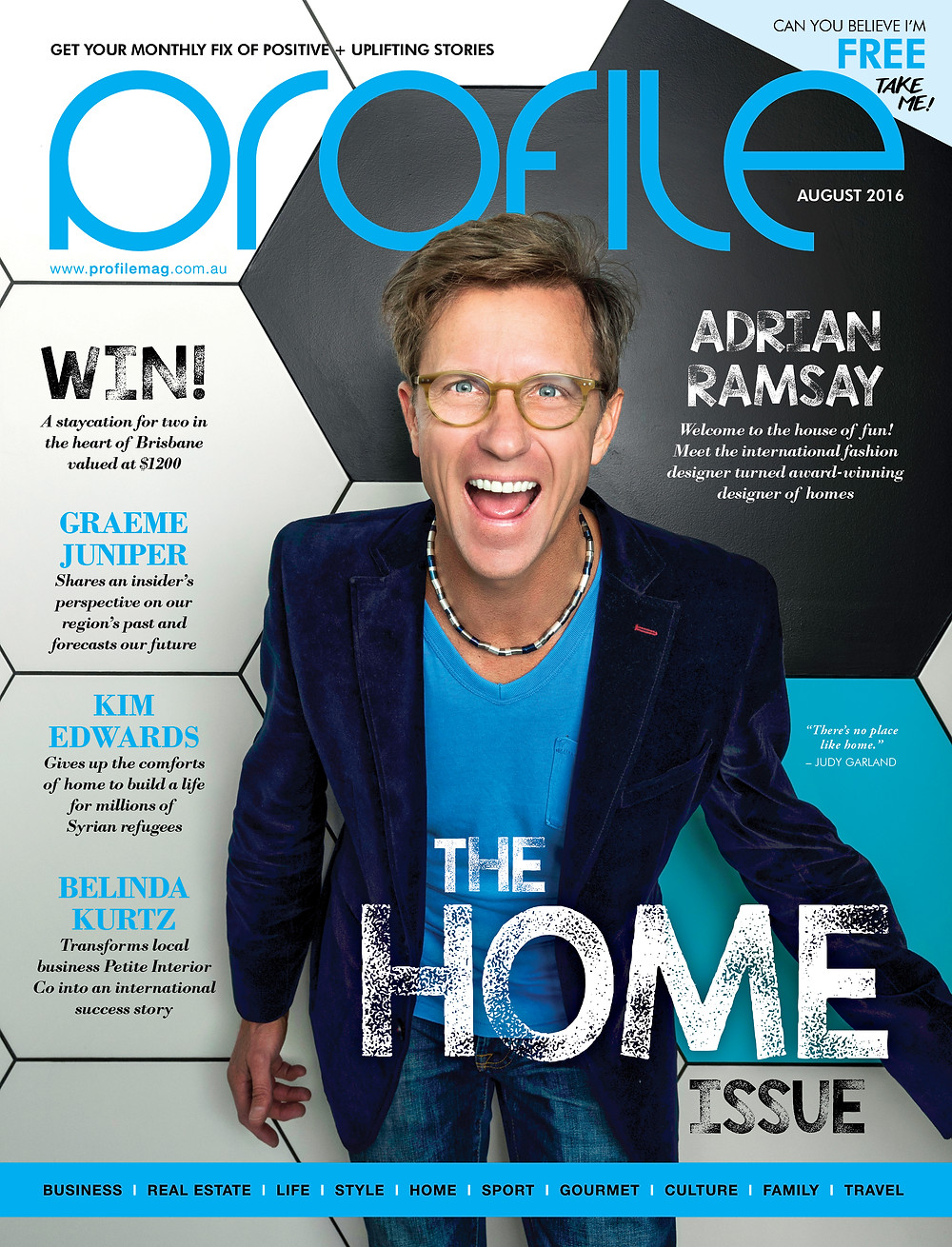 Profile Magazine Adrian Ramsay Cover Story