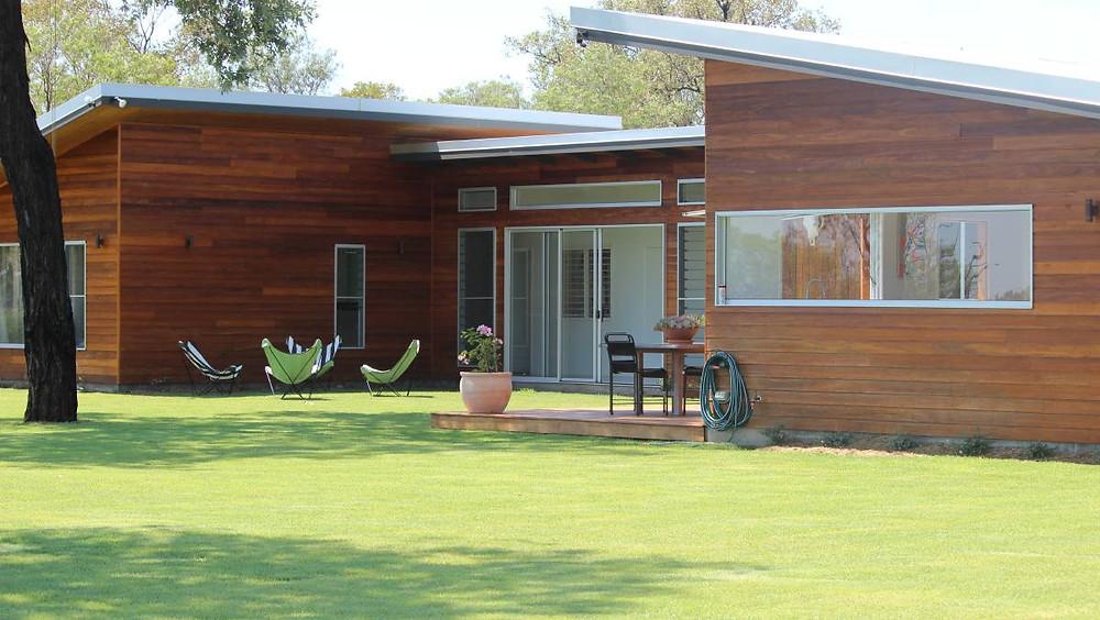 Lawn Design House Design ARDH Adrian Ramsay Farm House