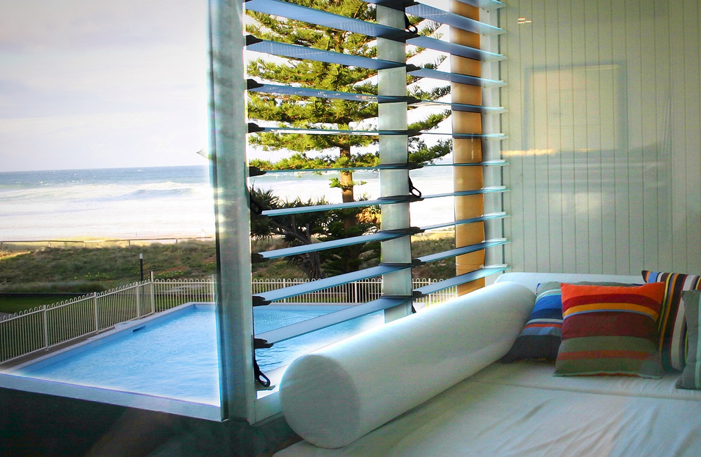 Adrian Ramsay Design House Daybed Beach Oceanview