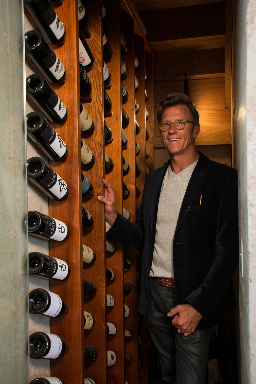 ARDH bespoke wine cellar