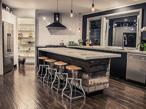 eclectic kitchen industrial interior design