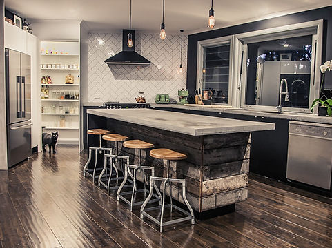 eclectic kitchen industrial interior design