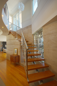Rammed Earth, Timber, Off Form Concrete