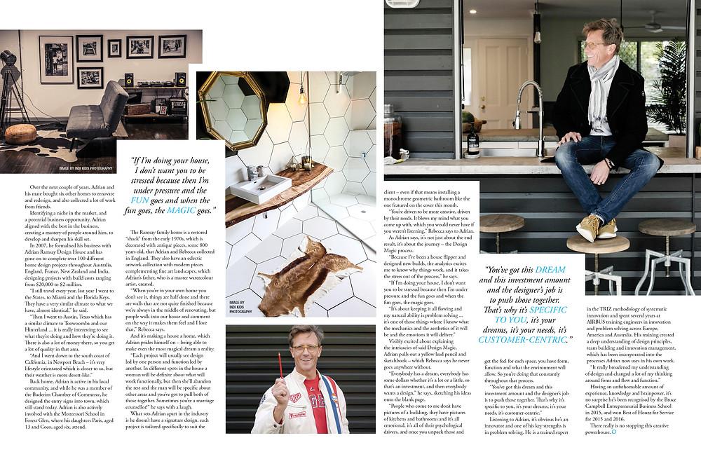 Profile Magazine Adrian Ramsay ARDH